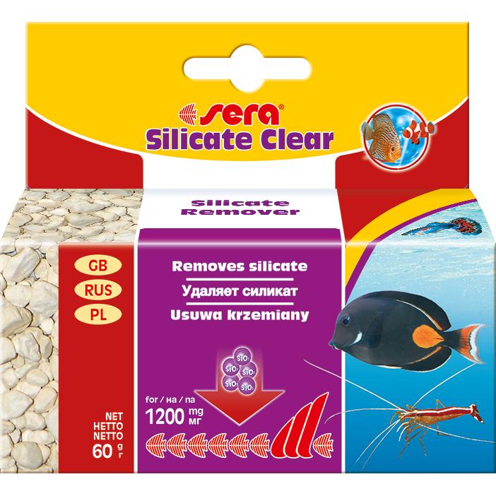 Поглотитель силикатов Sera Marin Silicate Clear 60г