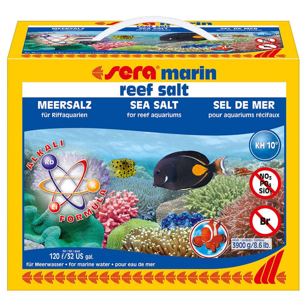 Соль морская SERA 3900 г (коробка)