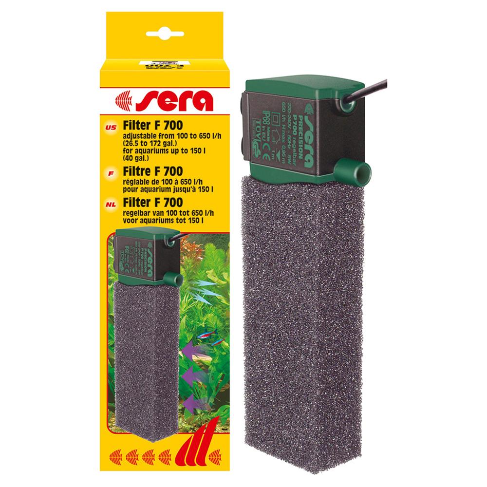 Фильтр внутренний SERA F700 650л/ч до 150л