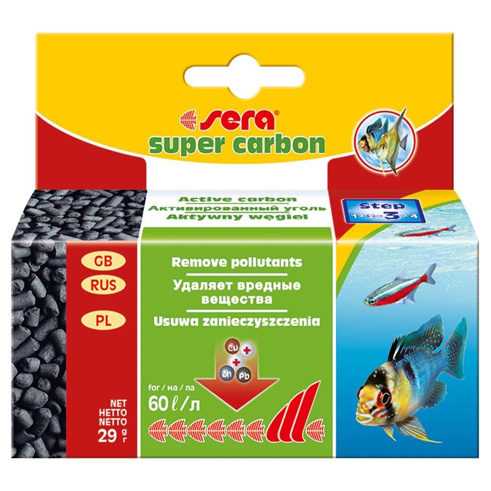Уголь активированный SERA SUPER CARBON 29г