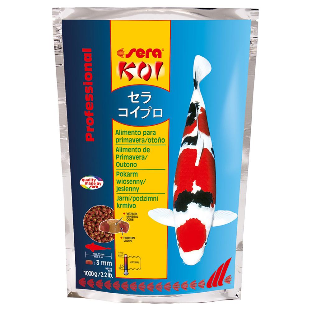 Корм для прудовых рыб Sera KOI PROFESSIONAL весна/осень 1кг