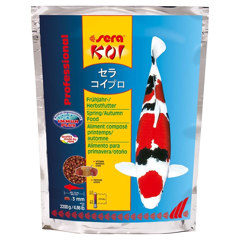 Корм для прудовых рыб Sera KOI PROFESSIONAL весна/осень 2.2 кг