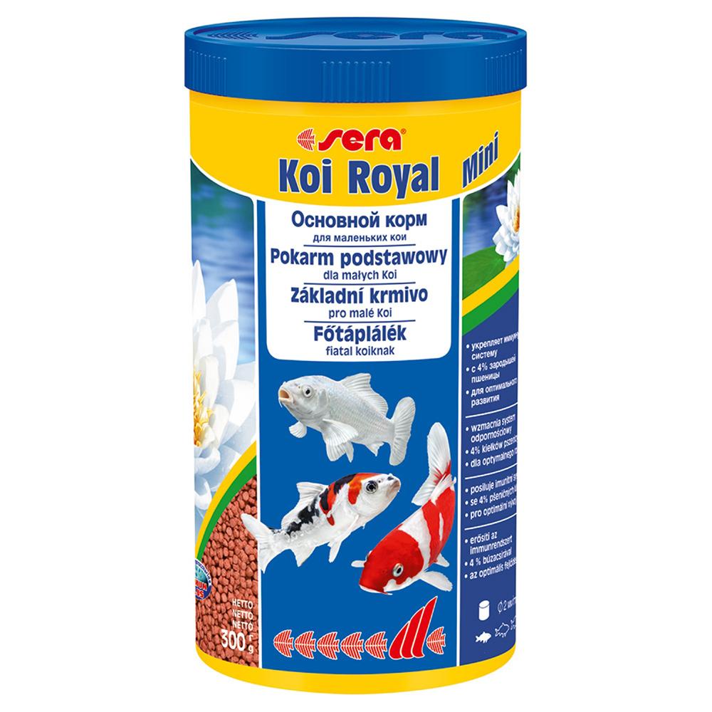 Корм для прудовых рыб Sera KOI ROYAL mini 1л