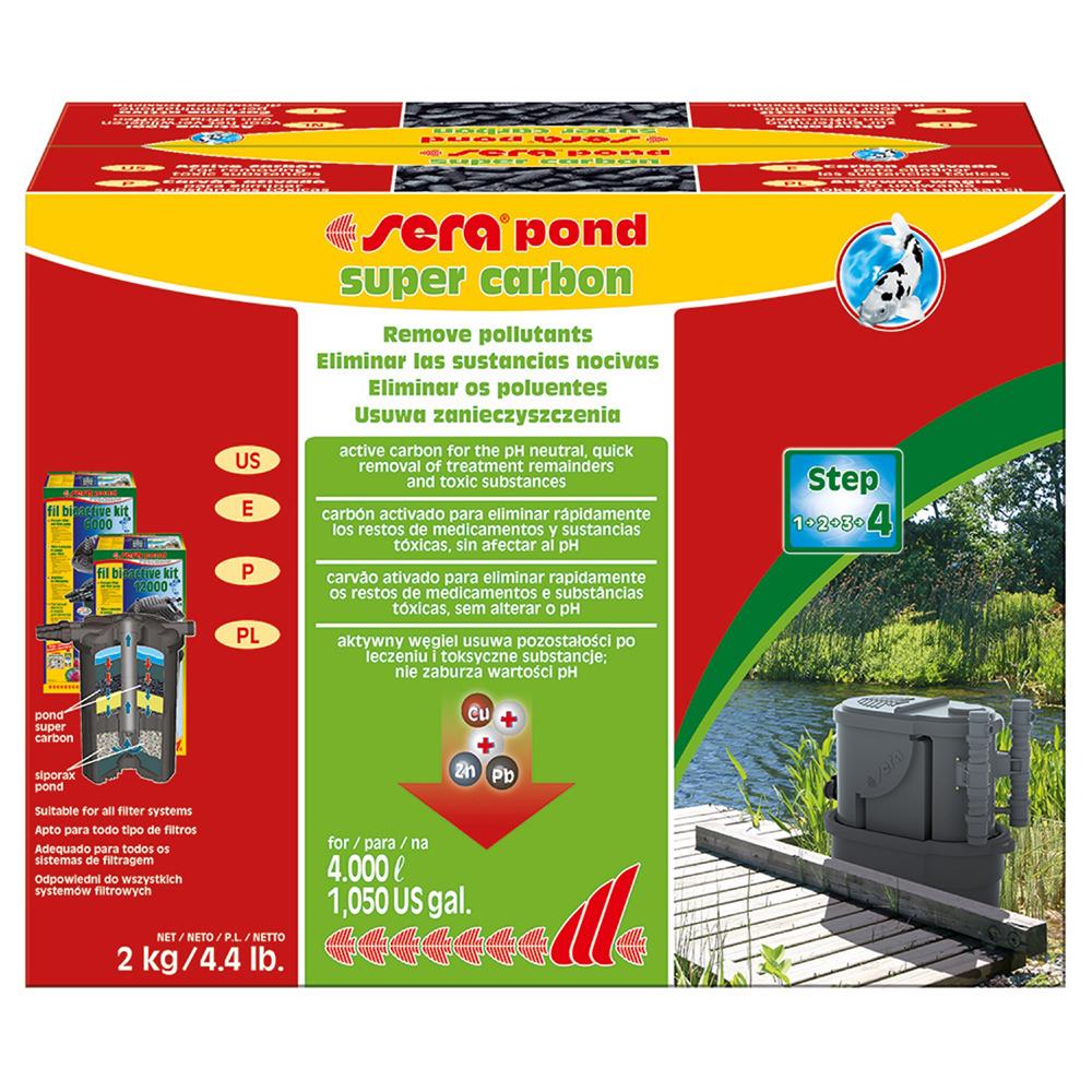 Уголь активированный SERA SUPER CARBON 2кг