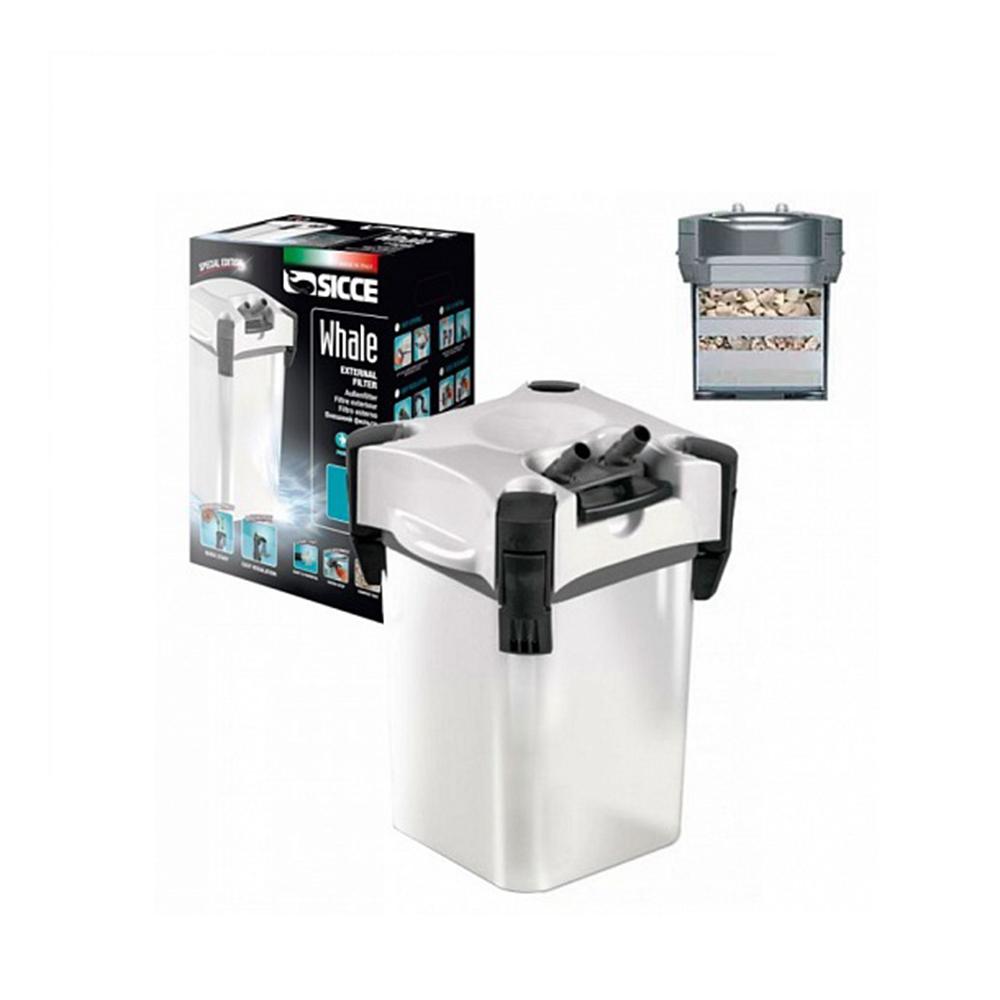 Фильтр внешний  SICCE WHALE 120 до 540л/ч белый
