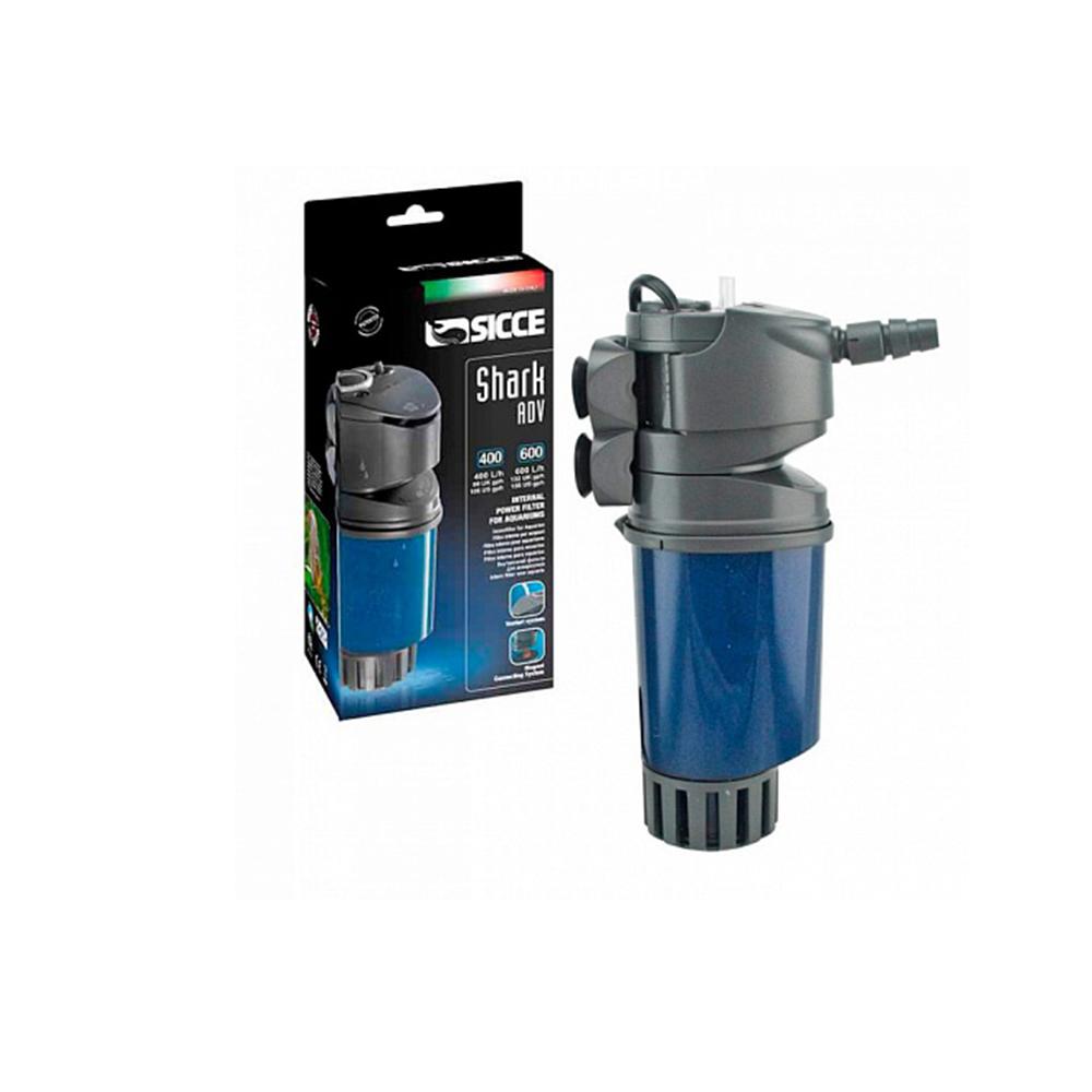 Фильтр внутренний SICCE SHARK ADV600 600л/ч до 130 л