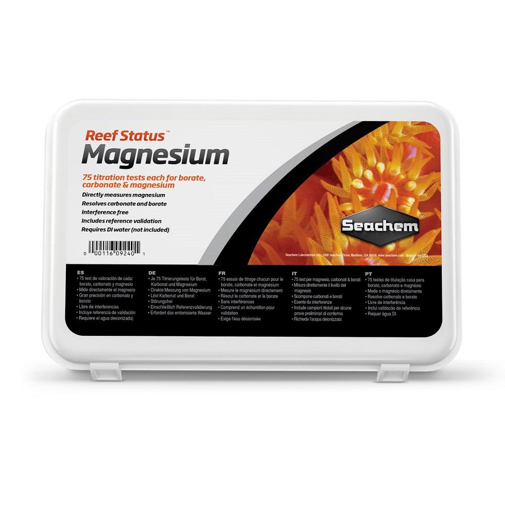 Тест SeaChem Reef Status Magnesium Carbonate & Borate