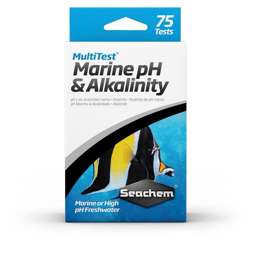Тест SeaChem MultiTest PH & Alkalinity