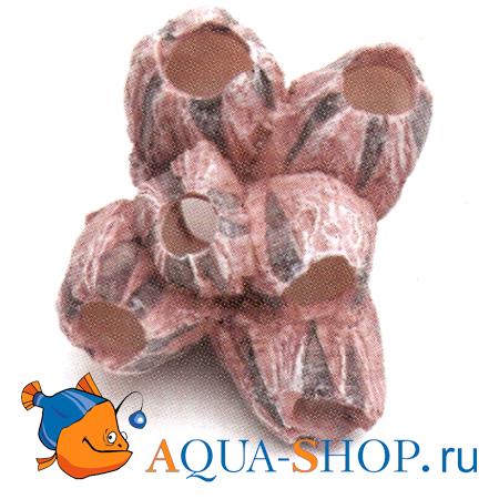 Коралл пластиковый Балянус 9*8*7 см