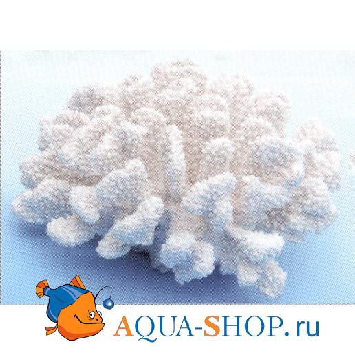 Коралл пластиковый  белый большой 20*19*9,5 см