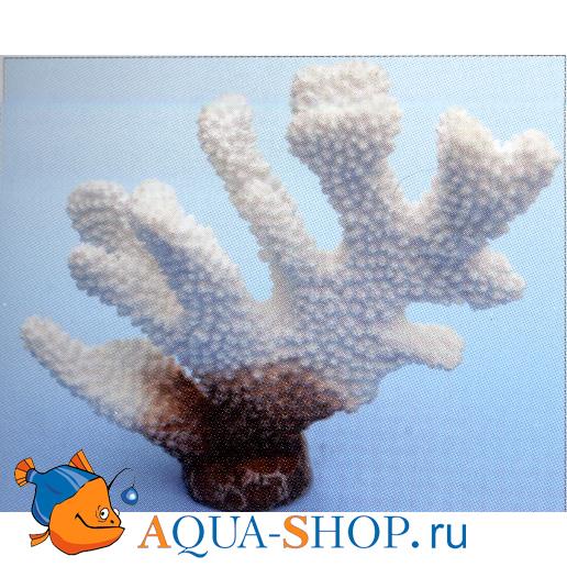 Коралл пластиковый белый 13*5*11 см