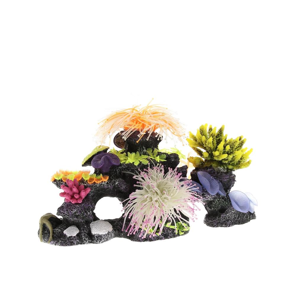 Композиция из кораллов пластик+силикон 40*20*20-3