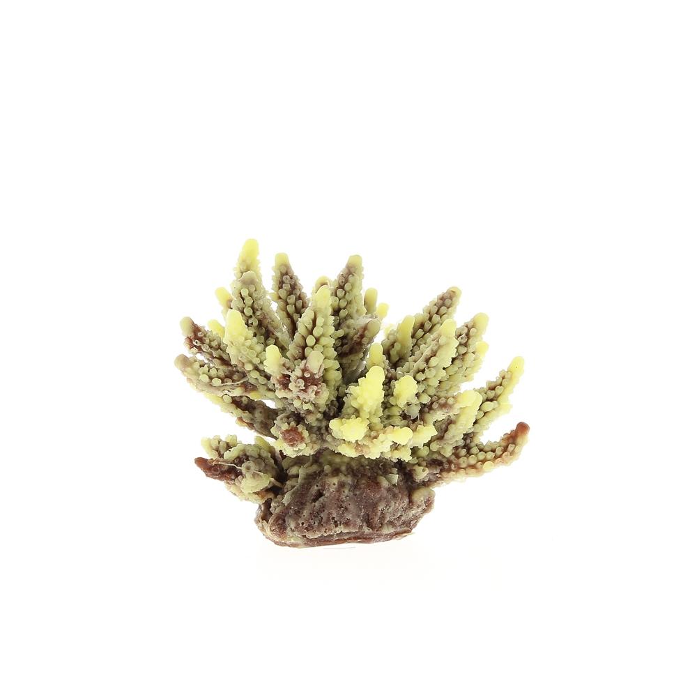 Коралл пластиковый коричневый 11,5x10x9см