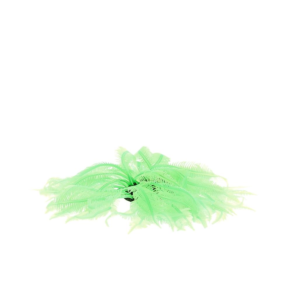 Коралл силиконовый зеленый 4.5х4.5х12см