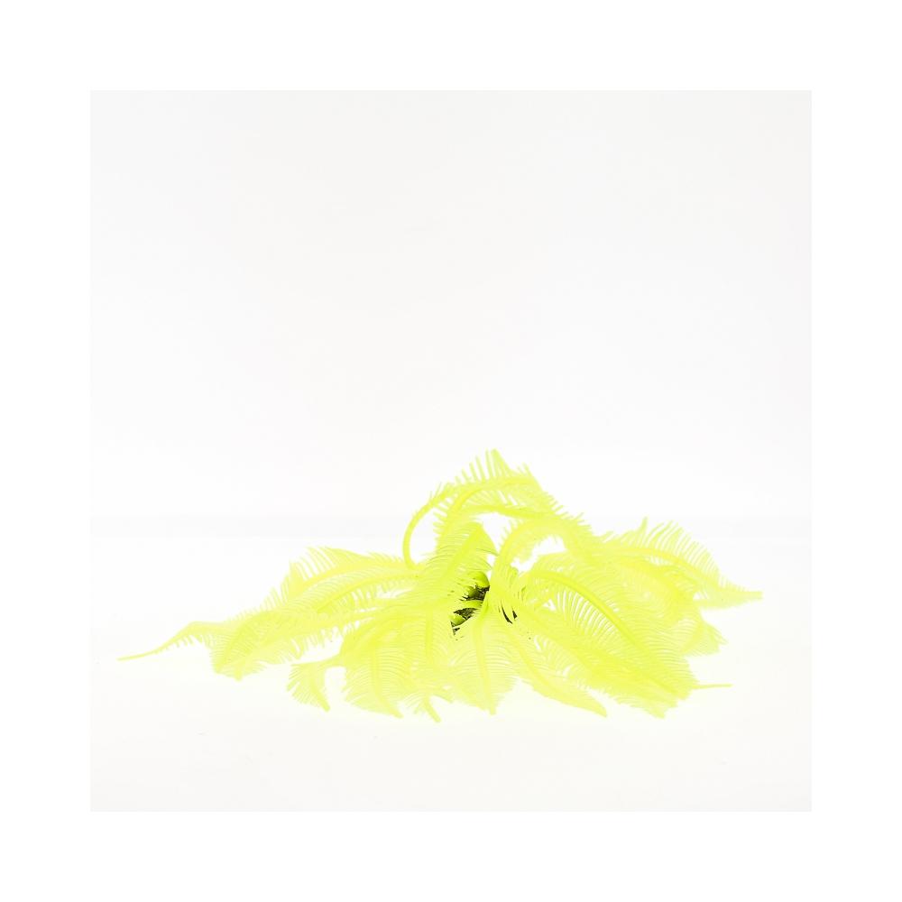 Коралл силиконовый желтый 4х4х12см