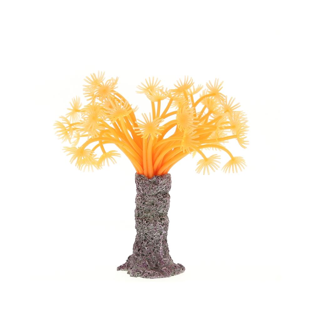 Коралл силиконовый красный 3.5х3.5х14см