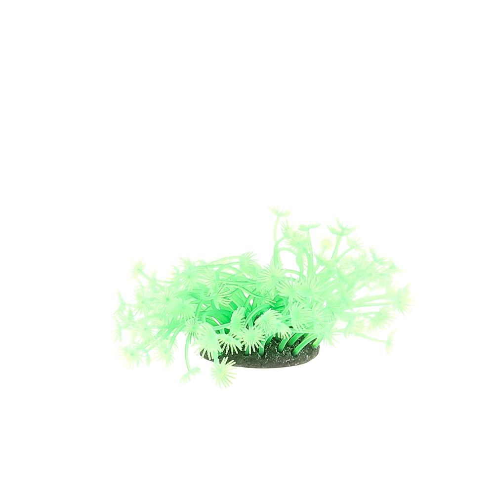 Коралл пластиковый 7*7*10 зеленый