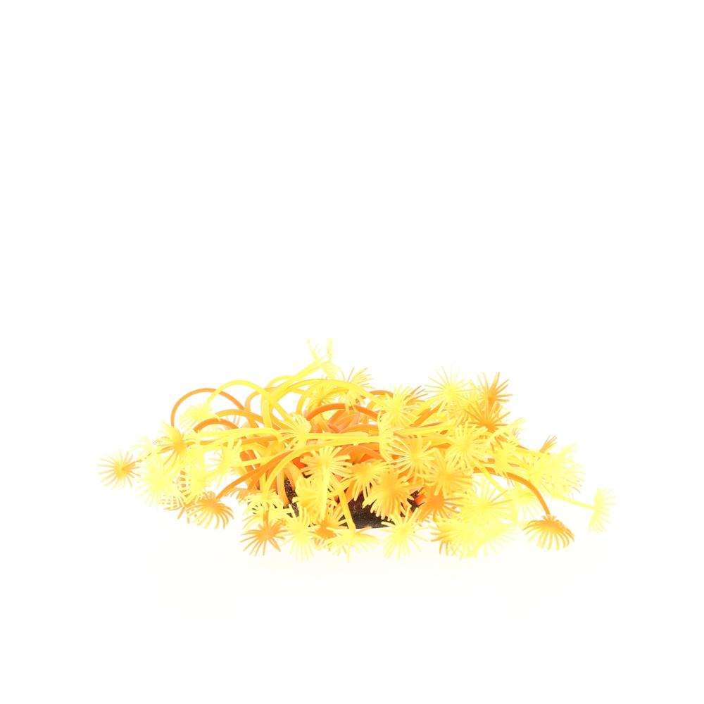 Коралл пластиковый желто-красный 7*7*10
