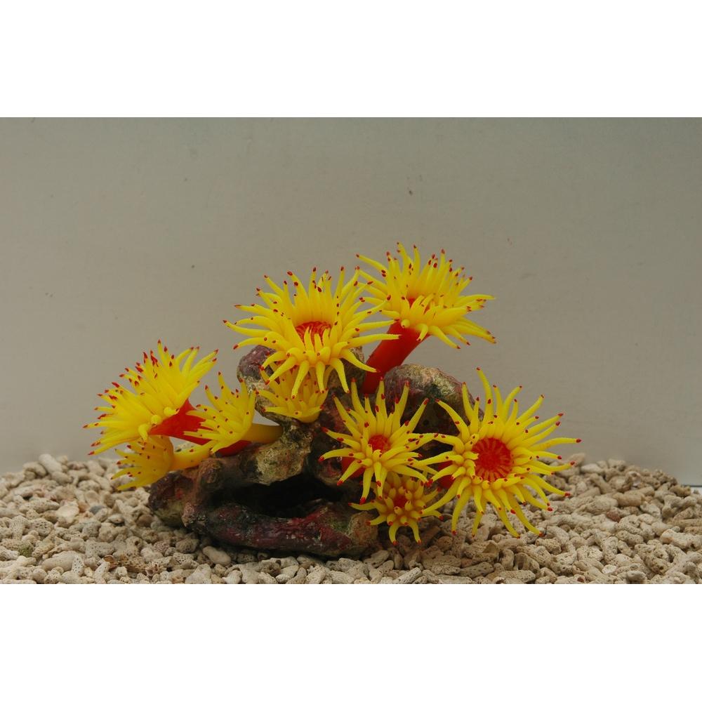 Коралл силиконовый 20*12*14 желтый