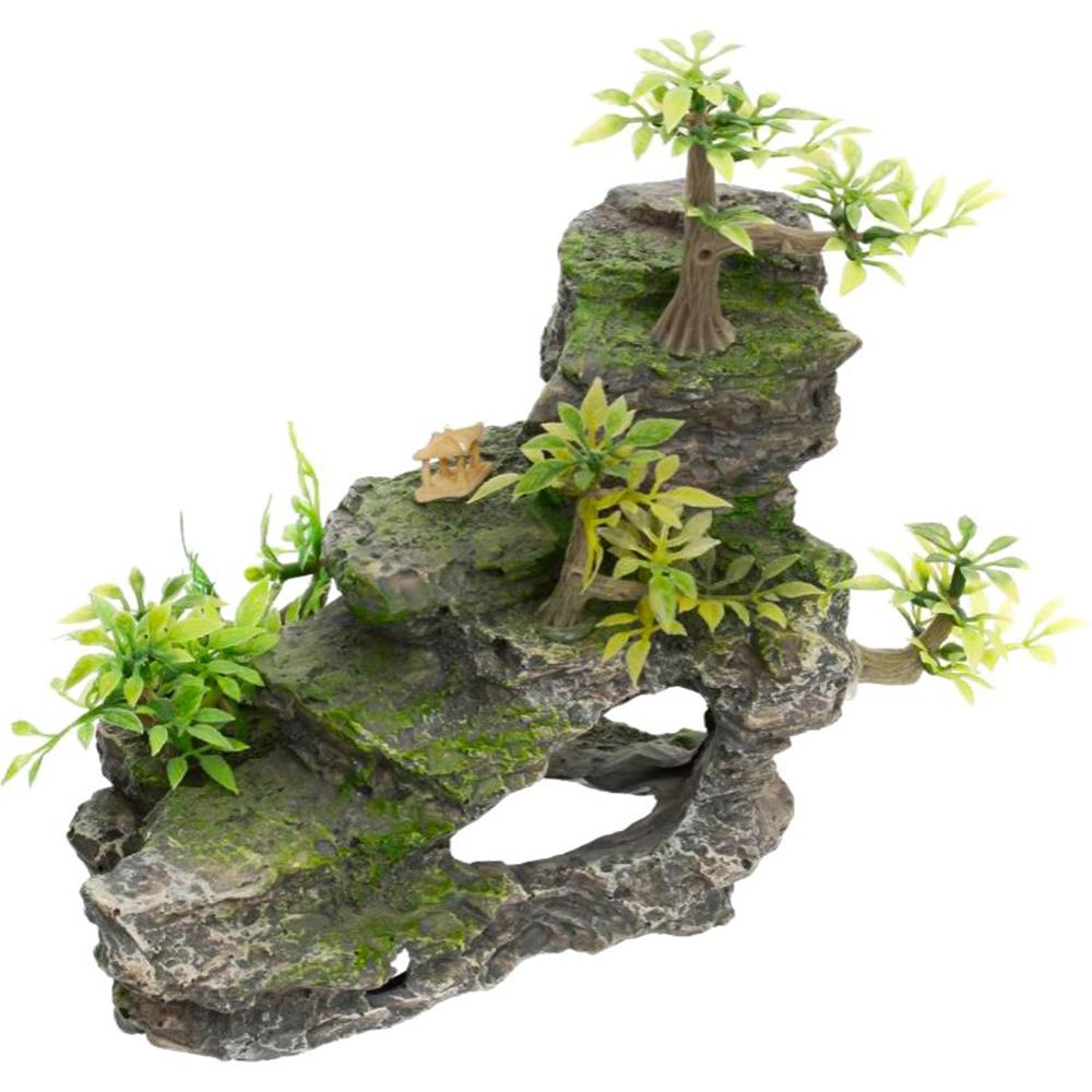 Грот TRIXIE Каменная лестница с растениями 19,5см