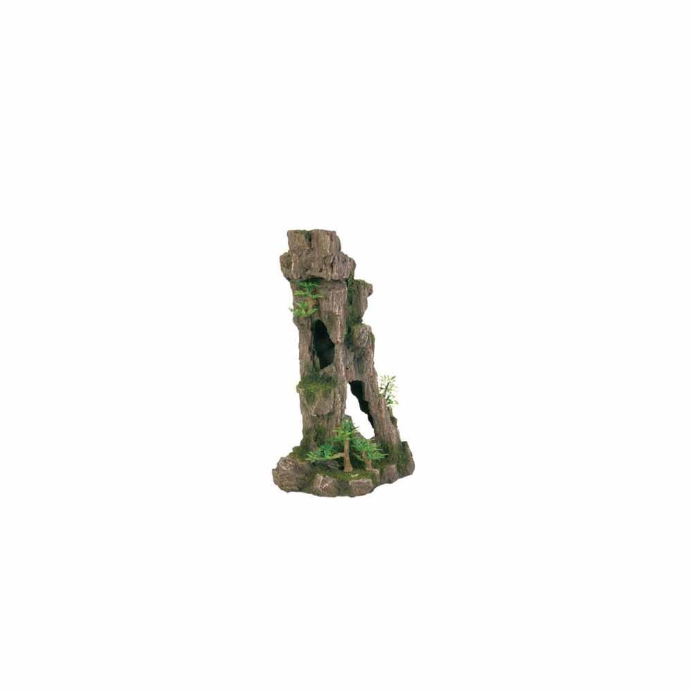 Грот TRIXIE Скала с пещерой с растениями 17см