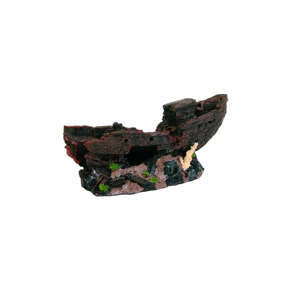 Грот TRIXIE Обломок корабля на мели 25 см