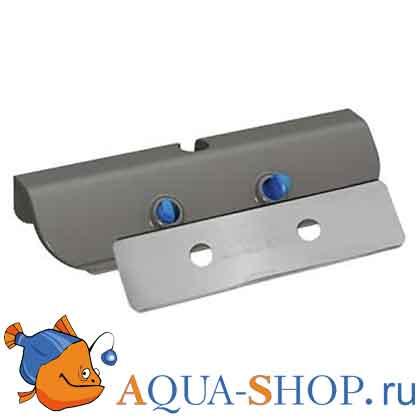 Набор из пластикового и стального лезвия для магнитного скребка Care Magnet Tunze