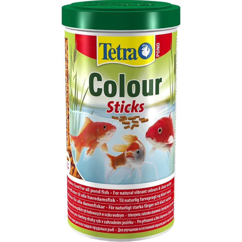 Корм для прудовых рыб TetraPond Color гранулы  1л