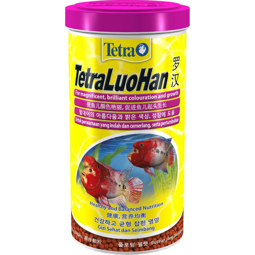 Корм для рыб TETRA LuoHan плавающие шарики фловер хорнам 1000мл/330г