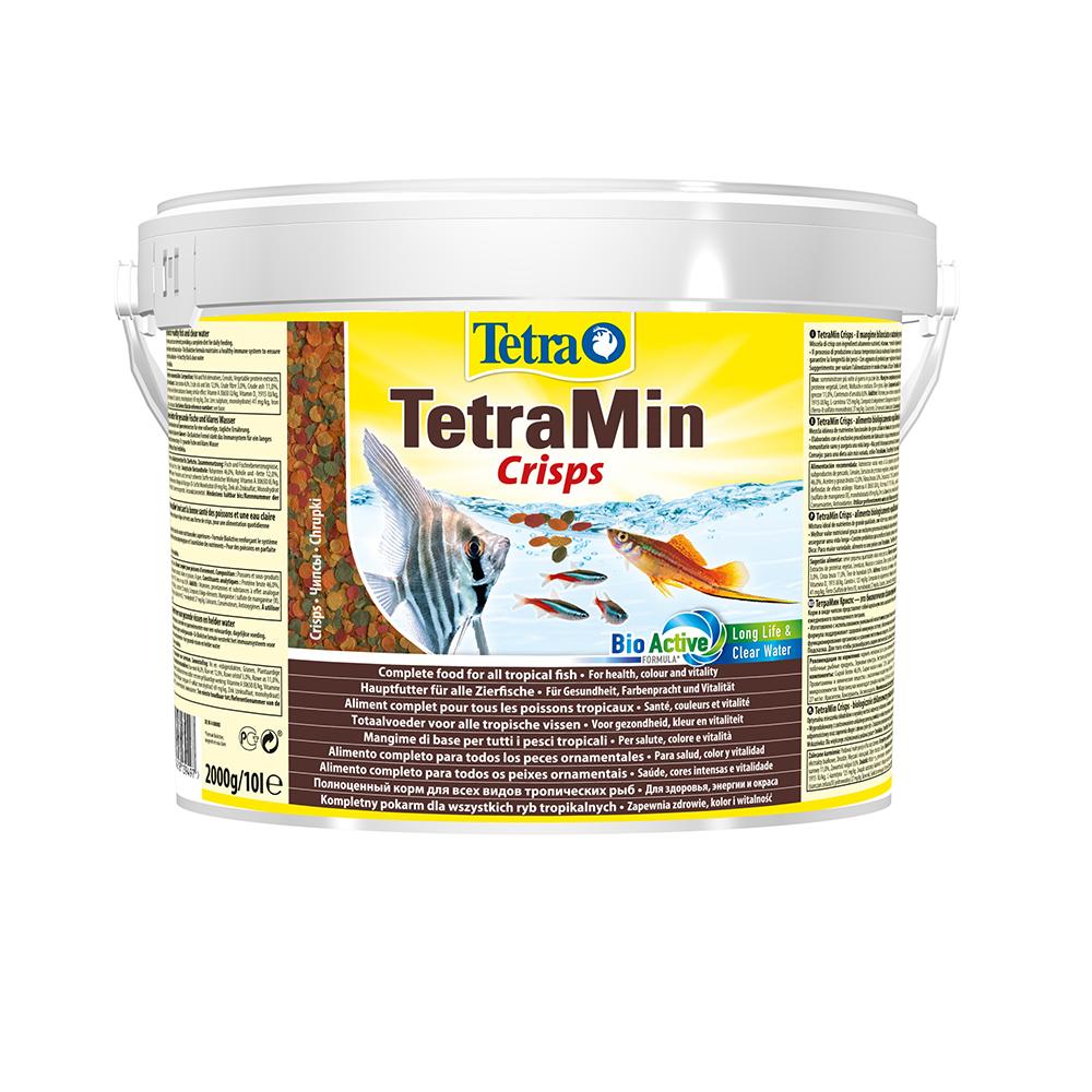 Корм для рыб TetraMin Crisps чипсы 10л/2кг