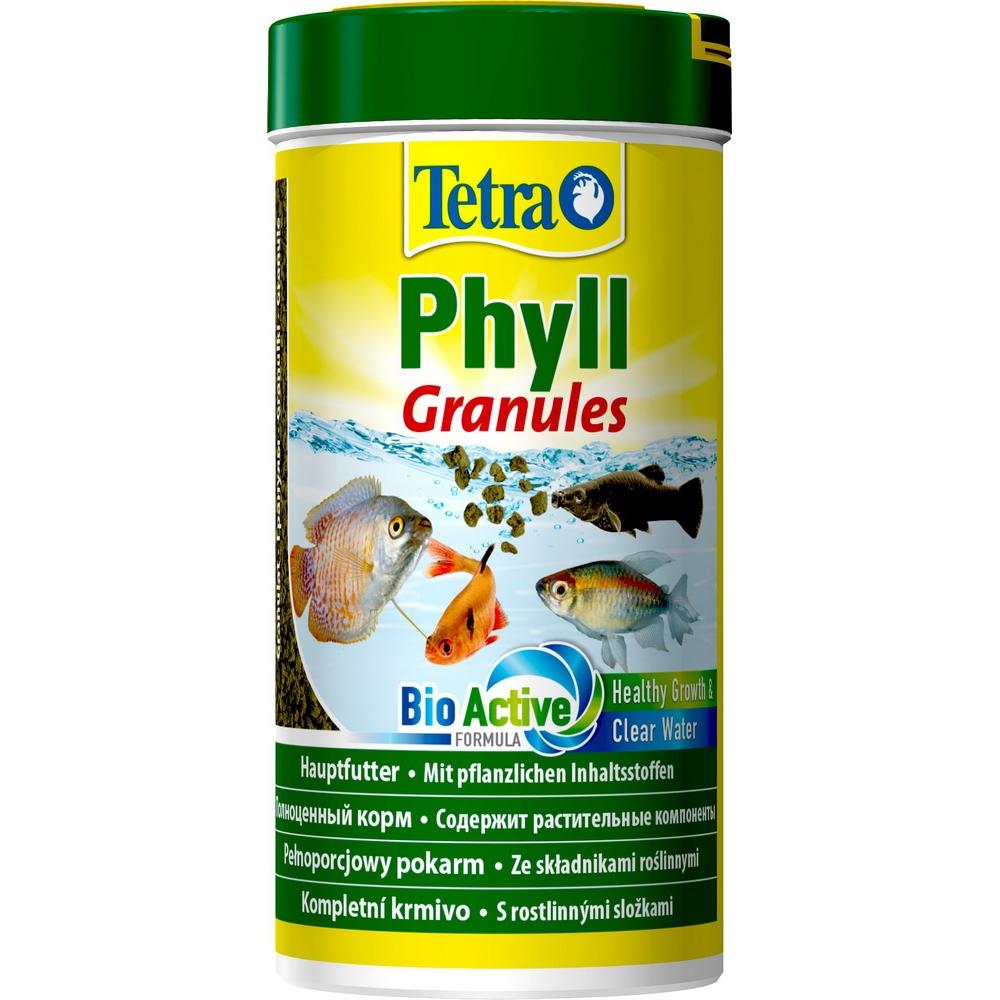 Корм для рыб TetraPhyll Granulat  гранулы растительные 250мл