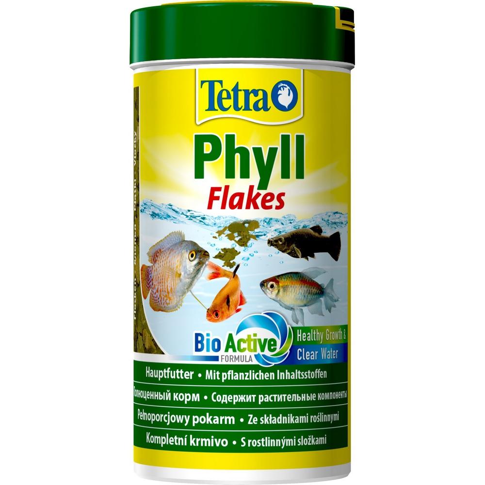 Корм для рыб TetraPhyll хлопья растительные   250мл