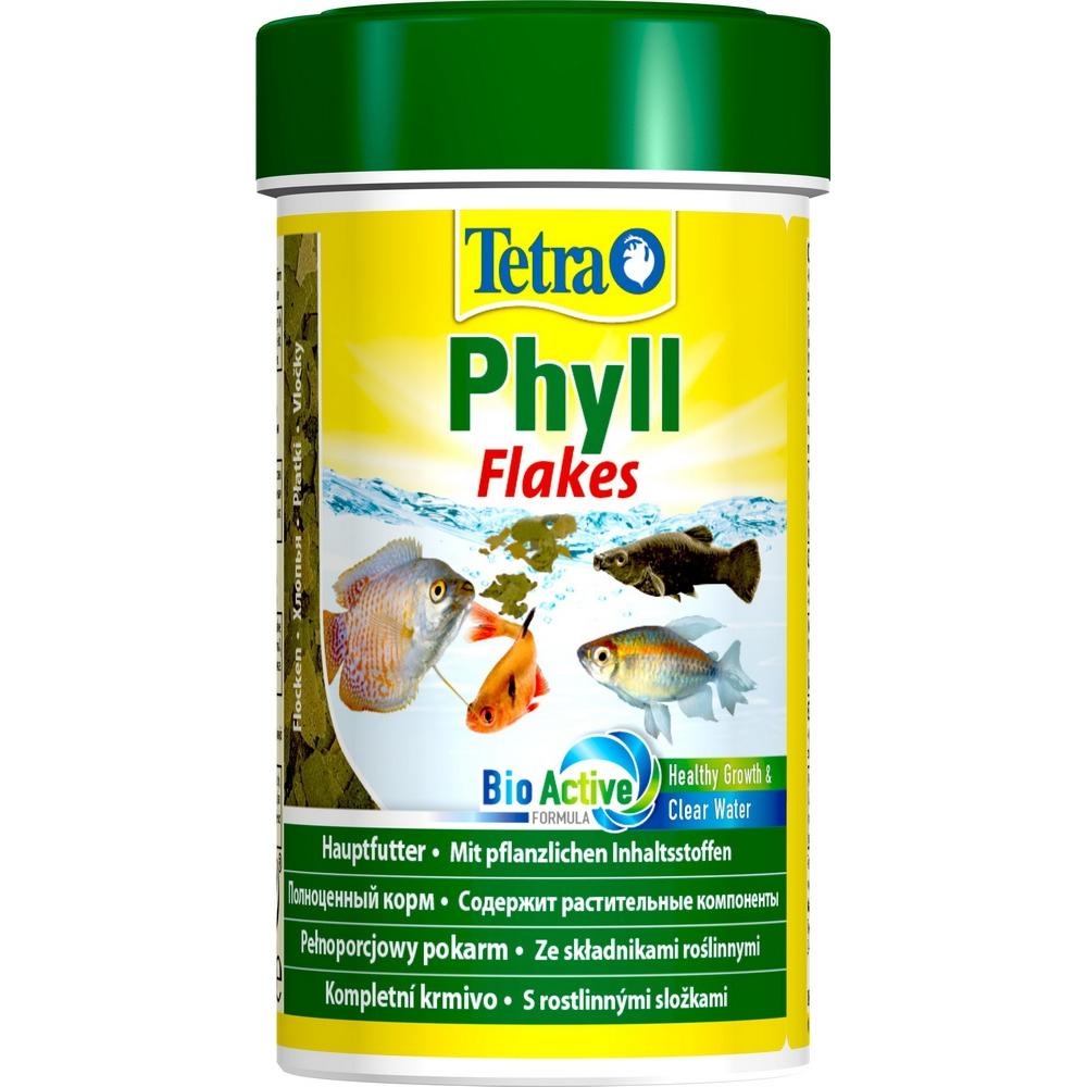 Корм для рыб TetraPhyll хлопья растительные   100мл