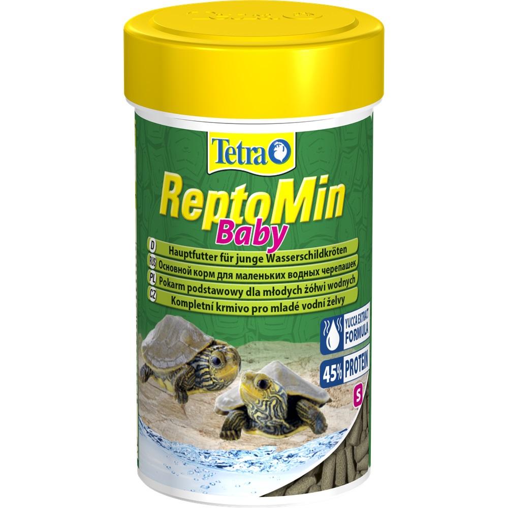 Корм для молодых черепах Tetra ReptoMin Baby гранулы 100мл