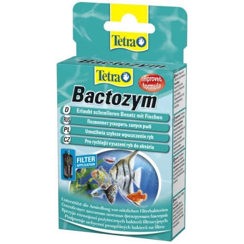 Биостартер TETRA Bactozym бактерии для запуска фильтра 10капс/1000л