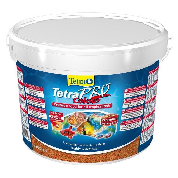 Корм для рыб TetraPro Color Crisps 10л