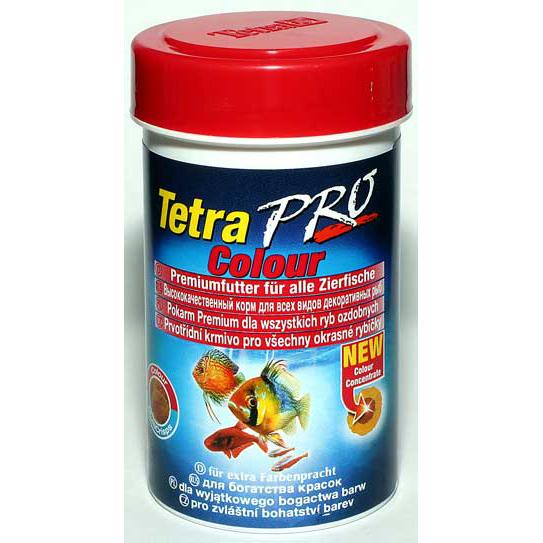 Корм для рыб TetraPro Color Crisps  100мл