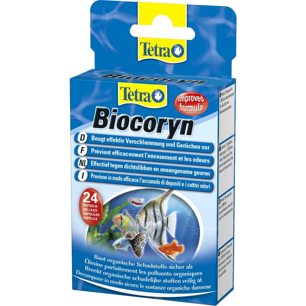 Биостартер TETRA Biocoryn бактерии для очищения фильтра/грунта/воды 24капс/1200л