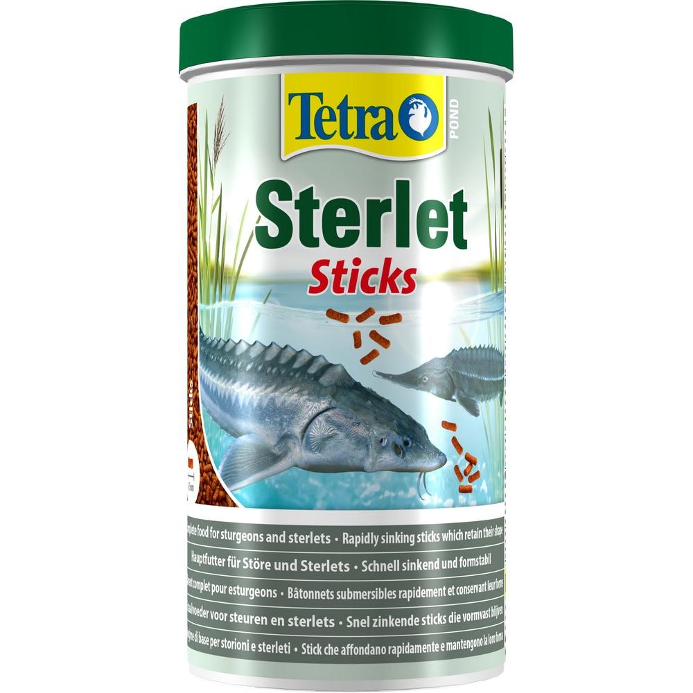 Корм для осетровых рыб TetraPond Sterlet Sticks 1л