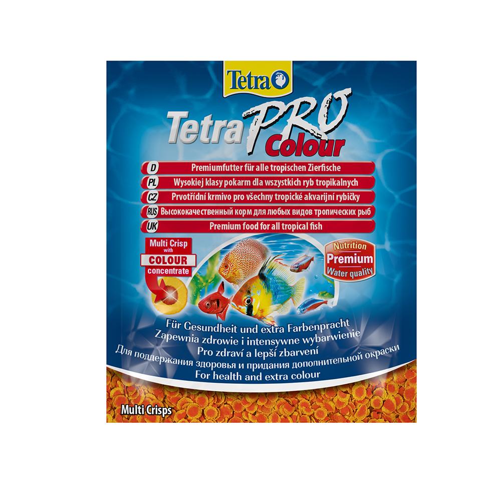 Корм для рыб TetraPro Color Crisps  12 гр