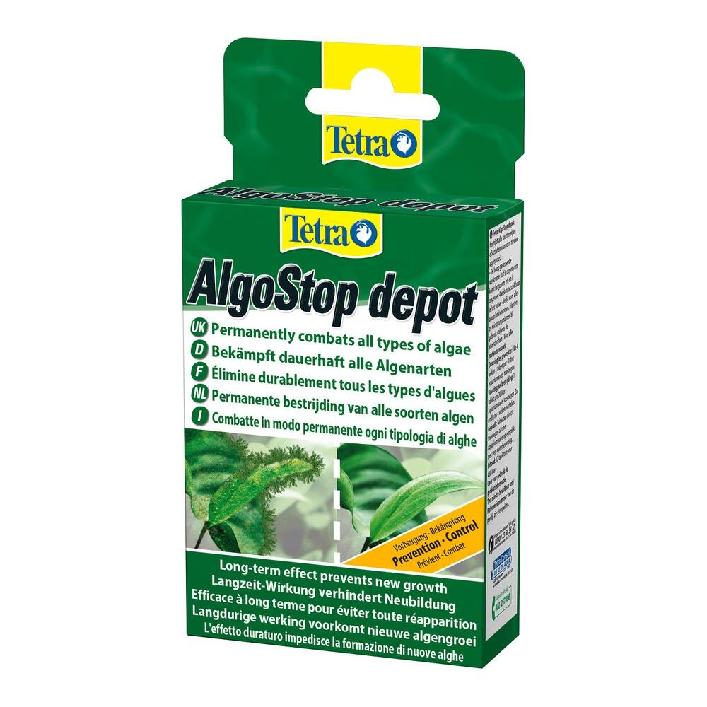 Средство против водорослей Tetra ZMF ALGOstopdepot дл действ 12табл на 600л