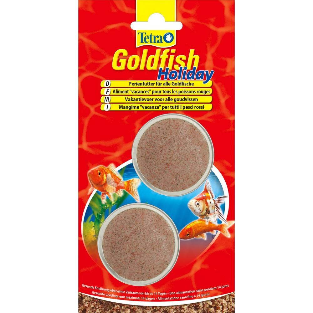 Корм для рыб Tetra Goldfish Holiday 2*12 гр паштет