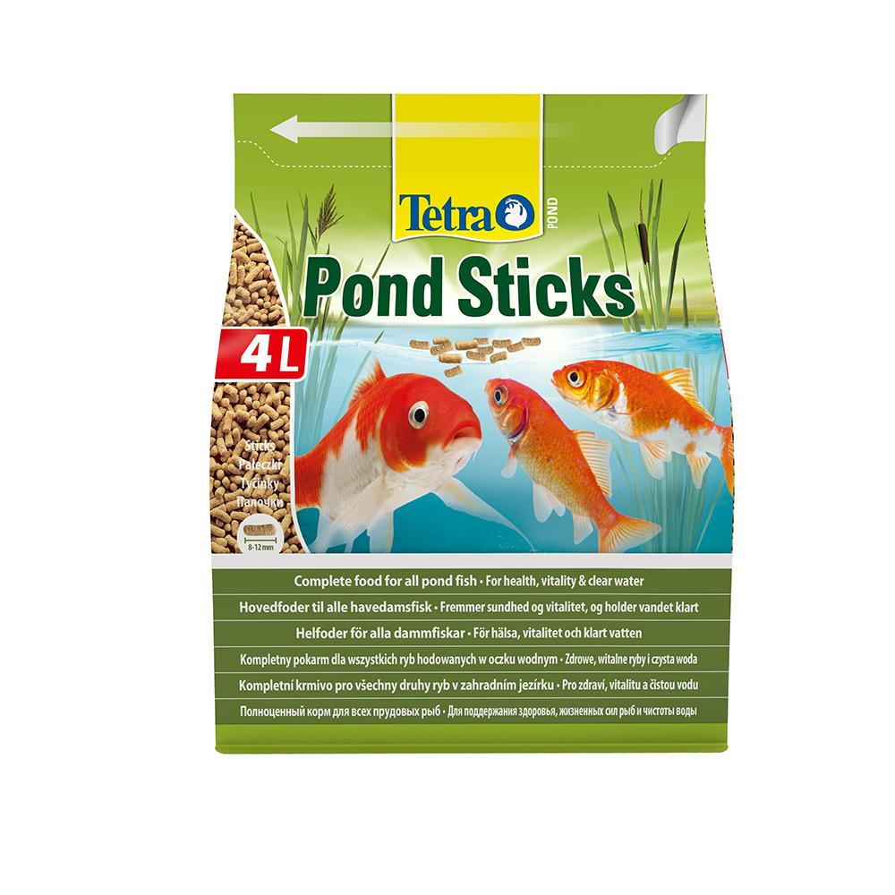 Корм для прудовых рыб TetraPond Sticks основной гранулы 4л