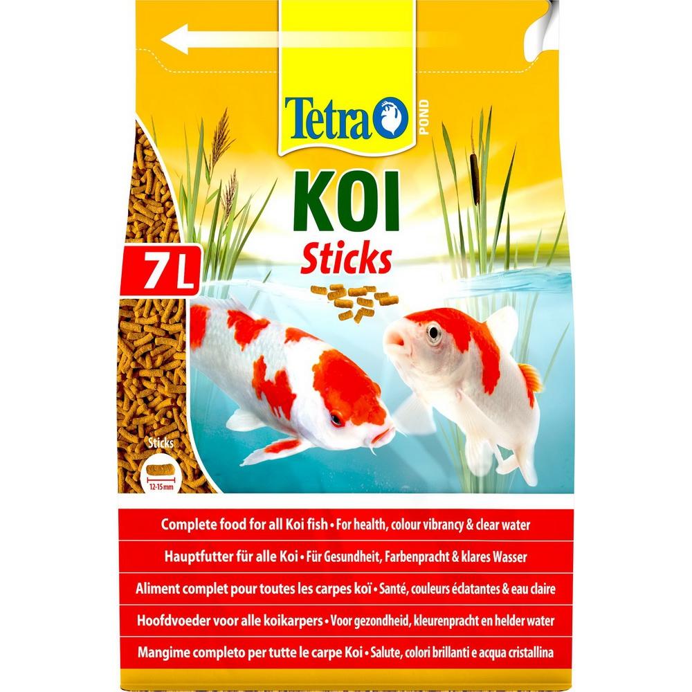 Корм для прудовых рыб TetraPond Koi Sticks гранулы 7 л