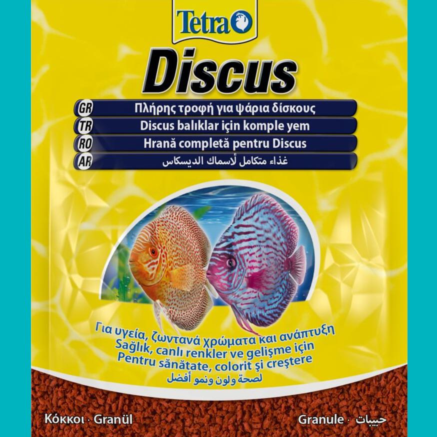 Корм для рыб TetraDiskus крупа 15г пакетик