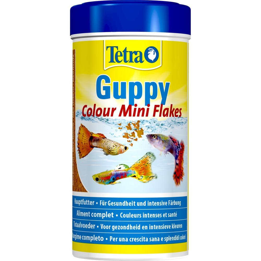 Корм для рыб Tetra Guppy Colour 250мл хлопья для гуппи