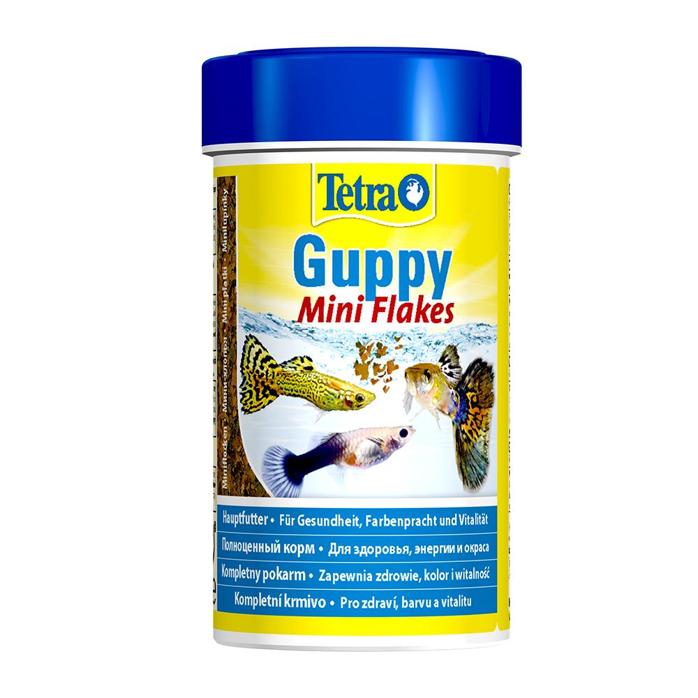 Корм для рыб TetraGuppy хлопья 100мл-1