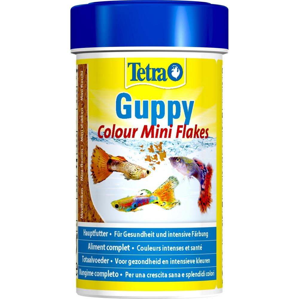 Корм для рыб Tetra Guppy Colour 100мл хлопья для гуппи