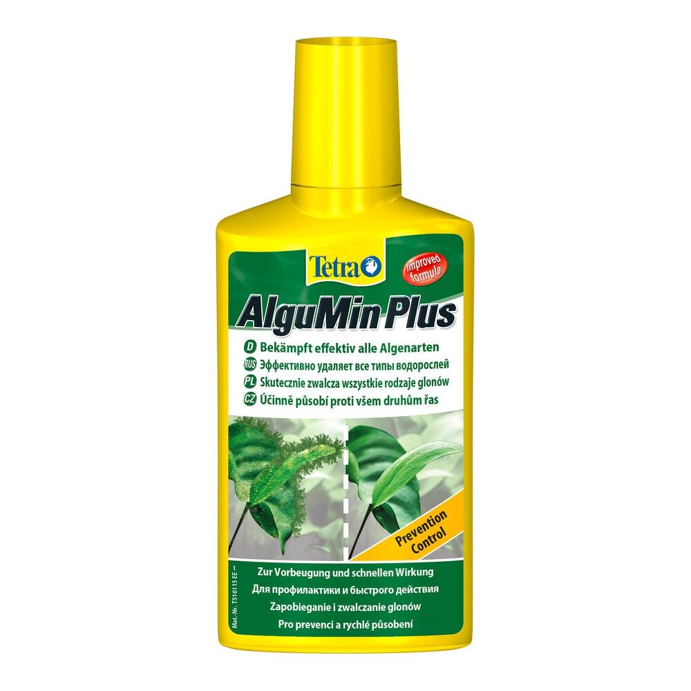 Средство против водорослей Tetra AlguMin продолж. действия 250мл на 500л