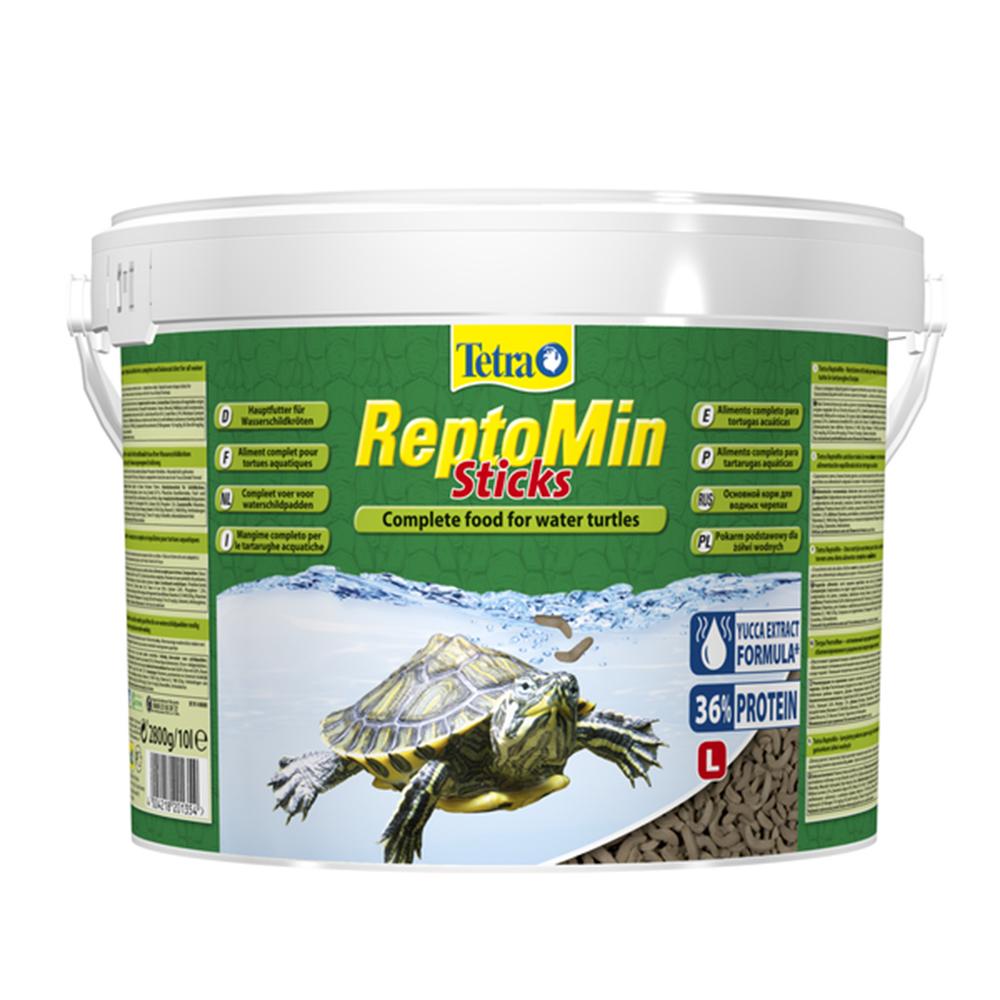 Корм для черепах TetraReptoMin гранулы 10 л